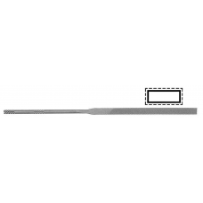 LA 2401-180MM-0 NEEDLE FLAT FILE