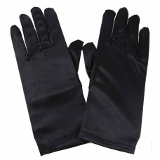 Black Jewellery Hand Gloves