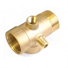 LSE-6 1/4 Pressure Gauge Conector-Brass