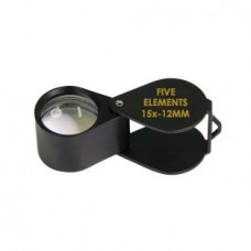 Five Elements 15x-12MM Black Loupe