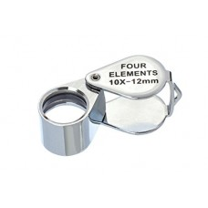 Four Elements 10x-12MM Chrome Loupe