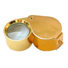 Diamond 10X Loupe Gold