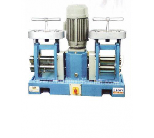 """Double Head Electric Rolling Mill-RMDH 5""""x 2.5"""""""