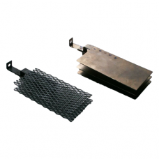 UMICORE ANODE PLATE -BLACK(4X10CM)SMALL