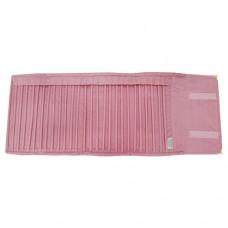 Velvet Pink Color Bracelet Pouch