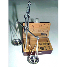25 CARAT WOODEN SCALES