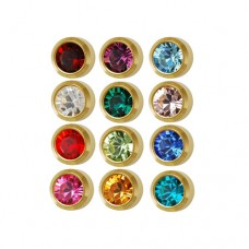 M213Y Gold Plated Coloring Ear Piercing