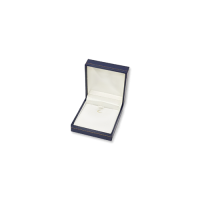 Suede Earring & Pendant Box- A05 Blue/Black/Re...