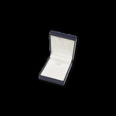 Suede Earring & Pendant Box- A06 Blue/Black/Re...