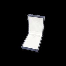 Suede Earring & Pendant Box- A08 Blue/Black/Re...