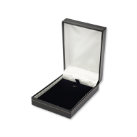 Suede Earring & Pendant Box- A07 Black/Blue/Re...