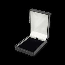 Suede Earring & Pendant Box- A07 Black/Blue/Re...
