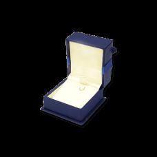 Suede Earring & Pendant Box- B05 Blue/Black/Re...