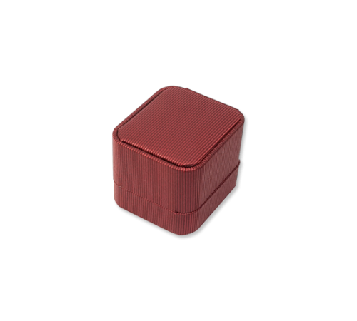 Suede Ring Box- C01 Red/Blue/Black