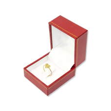 Suede Small Ring Box- D01 Red/Black/Blue