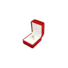 Velvet Ring Box - Red