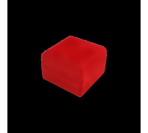 Velvet Bangle & Watch Box - Red