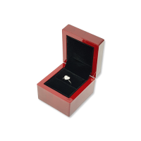 Wooden Ring Box- W401 Black