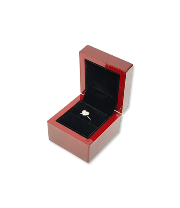 Wooden Ring Box- W401 Black