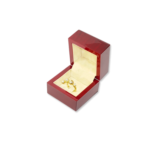 Wooden Ring Box- W402 Beige