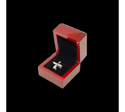 Wooden Ring Box- W402 Black
