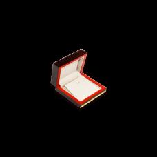 Wooden Earring & Pendant Box - W106 Beige