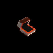 Wooden Earring Box - W107 Black