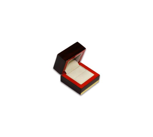 Wooden Ring Box- W101 Beige