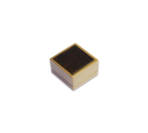Wooden Ring Box- W201 Brown