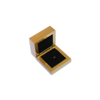 Wooden Earring & Pendant Box- W205 Black