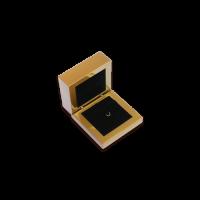 Wooden Earring & Pendant Box- W205 Black