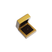 Wooden Earring & Pendant Box- W205 Brown