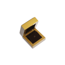 Wooden Earring & Pendant Box- W205 Brown