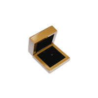 Wooden Earring & Pendant Box- W207 Black