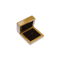 Wooden Earring & Pendant Box- W207 Brown