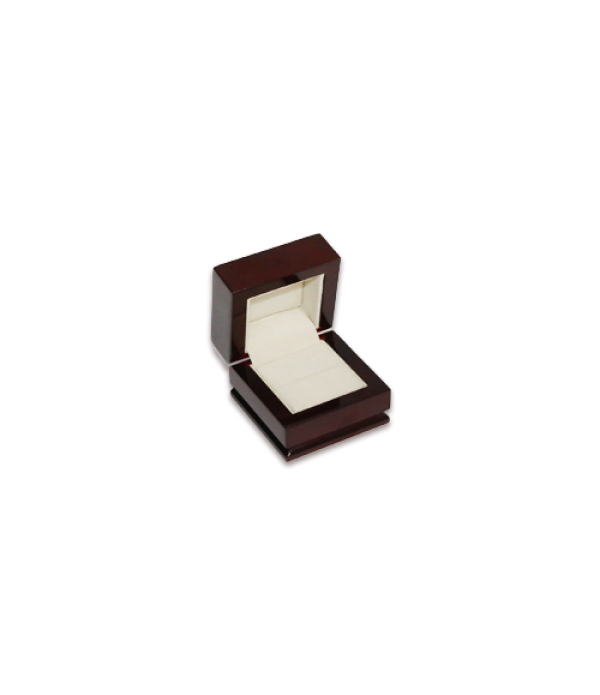 Wooden Ring Box- W301 Beige